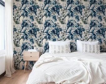 Removable Wallpaper Desert Floral Design Repositionable