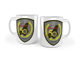 SALE!! Official Gazelle 50th Anniversary Mug