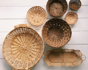 Vintage Basket Wall Collection
