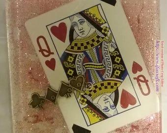 Queen of Hearts Single Coaster