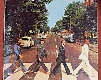 The Beatles Abbey Road Vinyl Record- Come Together