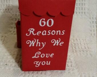 60 reasons why we love you box