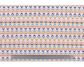 Multicolored Triangles DASHWOOD fabric
