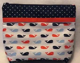 Whale Diaper Pouch