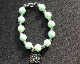 baby/toddler/Child fish jade bracelet