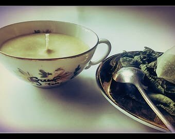 Candle Green tea