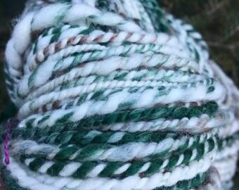 Merino wool, handspun yarn for knitting, crochet, weaving