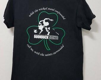 Rare!! The Boondock Saints T Shirt Movie Crime