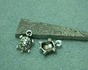 1 2 15 * 9 metal turtle charm