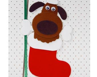 Christmas card / new year's Eve reindeer