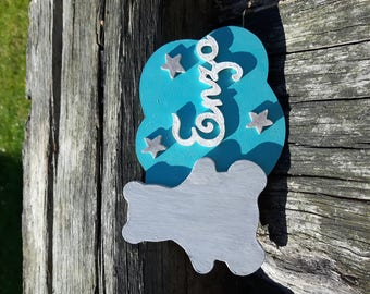 Personalized door signs - size 1