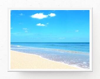 Tropical Decor - Tropical Beach Print, Tropical Beach, Digital Download, Tropical Download, Photograph Download Tropical Beach Download