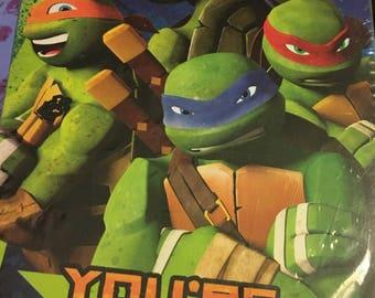 Teenage Mutant Ninja Turtles Birthday Invitations