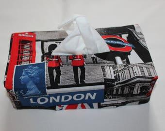 Cover for rectangular tissue box