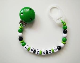 Pacifier clip-Green