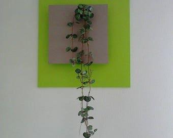 Artificial plant frame, maintenance free