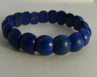 LAPIS beads elastic bracelet