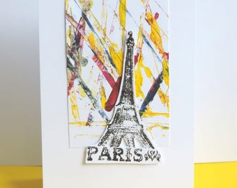 Scrapbooking, Paris party, any occasion, handmade