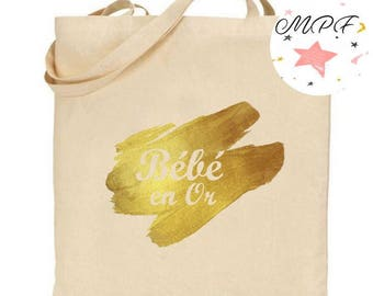 Tote bag Or baby