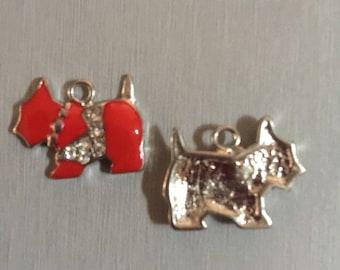 Red Dog + rhinestones