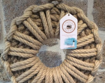 Wreaths - Decoration Navy - Marine - rope knots