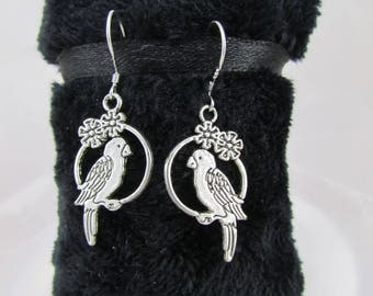 "Earrings ""my little ' parakeets tites"""