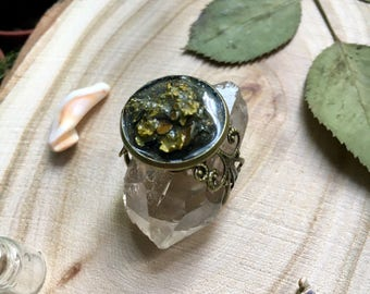 Vintage moss ring