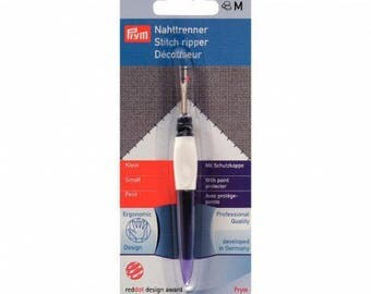 Ergonomic seam Ripper with protects tip Prym