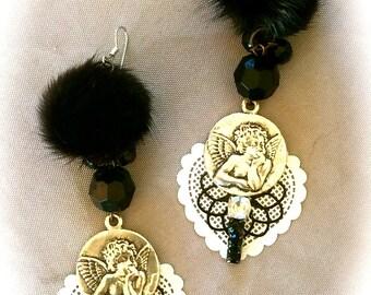 Earrings baroque spirit creator