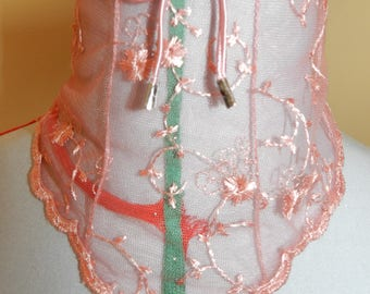 neck lace Victorian style corset