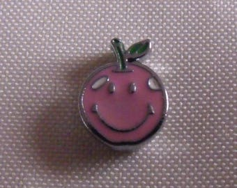 Pearl Pink smiling fruit 14mmx11mm passing