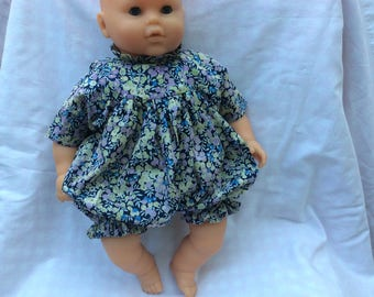 Doll romper Liberty for 42 cm doll clothes