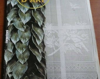 ancien magazine crochet art n. 75 - 1980 - curtains crochet