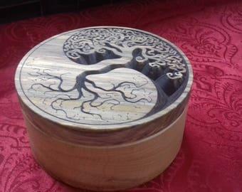 Box decorated tree pattern