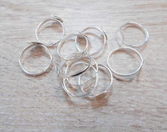 lots of 10 rings a set of 10 mm number 6