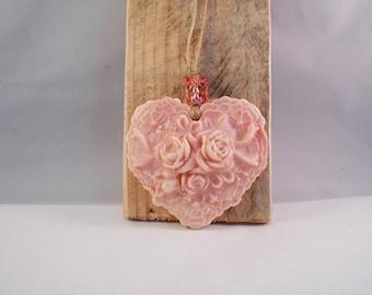 heart of cold porcelain for decoration
