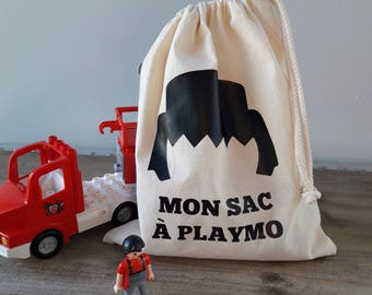 Storage bag for its playmobils