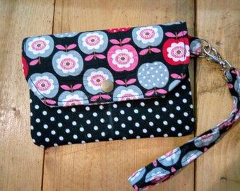Black Mini Wallet,Black  Mini Wristlet,Mini Clutch For Girl,Mini Wallet For Ladies,Free Shipping