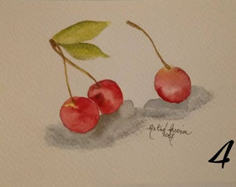 "postcard ""Cherries"""