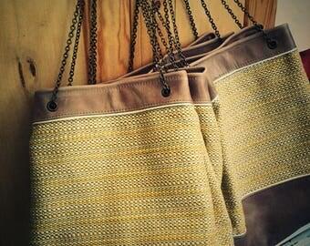 Chacha yellow bucket bag