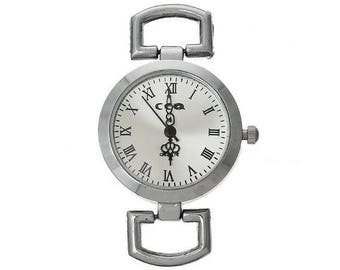 1 silver 4.9x3cm(Pile inclue) watch dial within 15 days