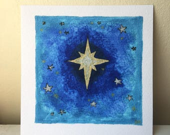 North Star Print