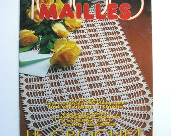 """Crochet """"1000 stitches"""" magazine monthly number 131 - August 1992."""