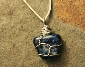 Throat Chakra Stone Necklace