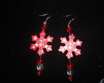 """Christmas special"" snow star"