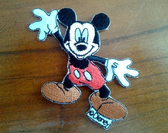applique thermocollante mickey animals iron without thread or needle with disney character