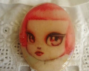 "Large Cabochon ""Baby doll"" - for your creations"