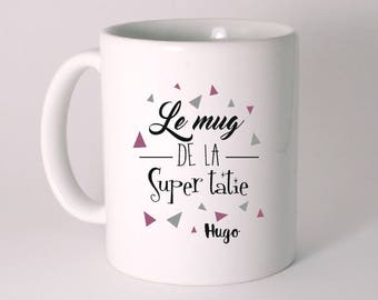 THE MUG of the great AUNTIE personalized with child's name