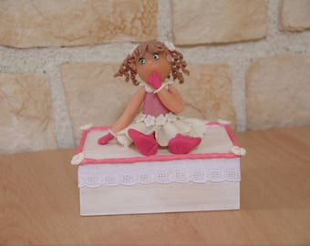 lace Miss Rose jewelry box