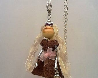 """Necklace - Articulated Doll - """"PatotteTina"""""""